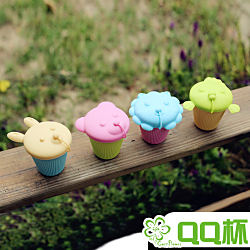 Cornflower玉米花快樂森林玉米餐具-QQ杯4入