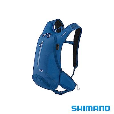 SHIMANO ROKKO 全功能背包-無水袋 8L 莊園藍