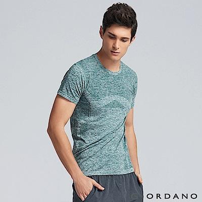 GIORDANO 男裝G-MOTION運動透氣短袖T恤 -05 雪花綠