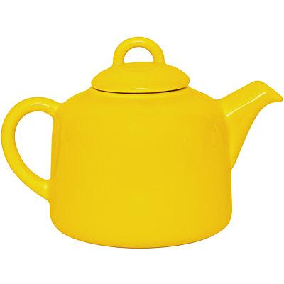 EXCELSA 陶製茶壺(黃0.55L)