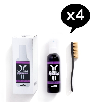 Y.A.S 友情組 鞋類香氛清潔組X4-薰衣草