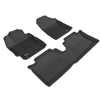 3D 神爪卡固立體踏墊 Toyota Yaris 2015~2016+ 汽油版