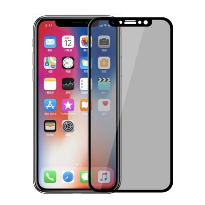 【SHOWHAN】iPhone X  3D曲面康寧防窺保護貼