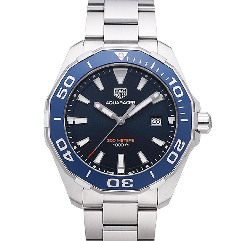 TAG HEUER 豪雅 AQUARACER藍框(WAY101C.BA0746)x43mm product image 1