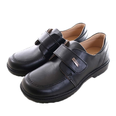 MIT小學生手工皮鞋-黑  sk0031 魔法Baby