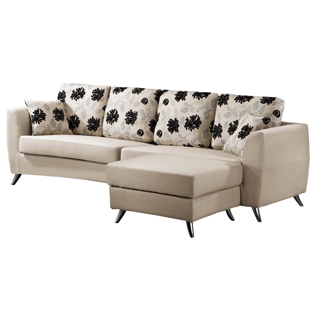 時尚屋 曼德斯L型沙發組211-3