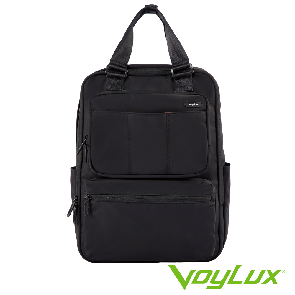 VoyLux伯勒仕-VAPOR系列-細丹尼輕量四方背包-3680504-黑色