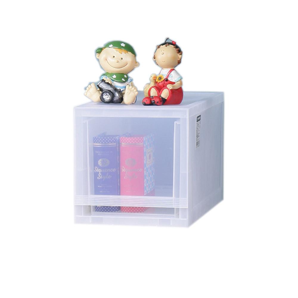 [買一送一]KEYWAY 聯府 朵拉抽屜式專利收納箱(小)