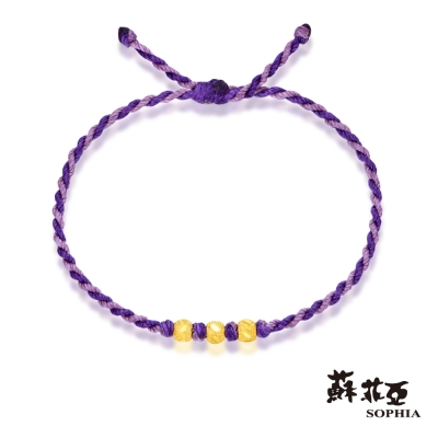 蘇菲亞SOPHIA - G LOVER系列光點黃金手環
