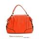 義大利Terrazzo-高質感都會經典保齡球牛皮包- 橘色 19E1006A10185 product thumbnail 1