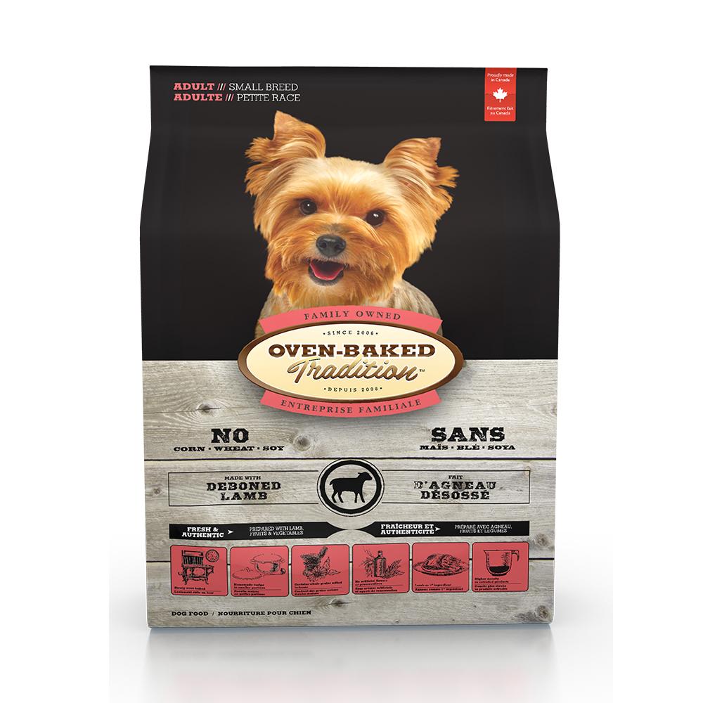 Oven-Baked烘焙客 成犬 羊肉+糙米口味 低溫烘焙 非吃不可 5磅 X 1包