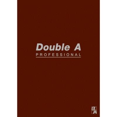 【10入組】Double A B5/18K膠裝筆記本-咖40頁(內頁橫線)