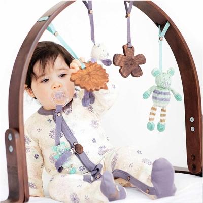Finn + Emma 有機棉 女寶寶款 嬰兒手抓玩具