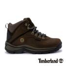 Timberland 女款咖啡色中筒防水靴