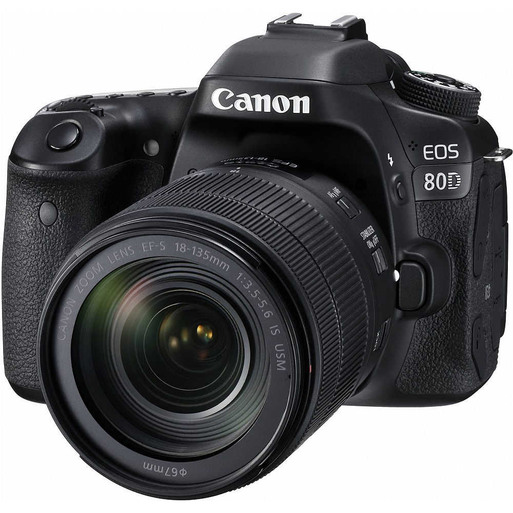 Canon EOS 80D 18-135mm IS USM (中文平輸)