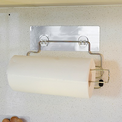 樂貼工坊 紙巾架/捲筒式/金屬貼面-29x7.5x10cm