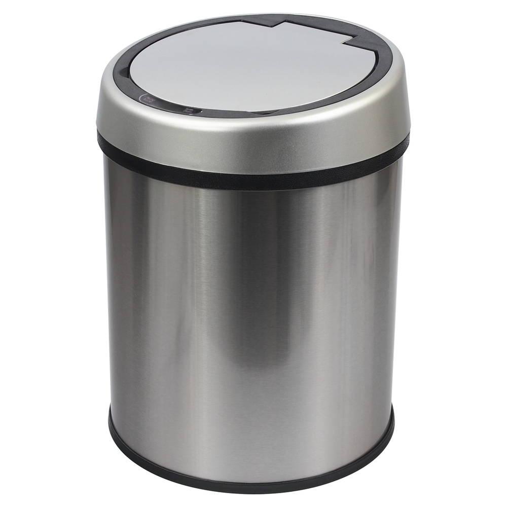 TRENY感應垃圾桶-不鏽鋼-9L