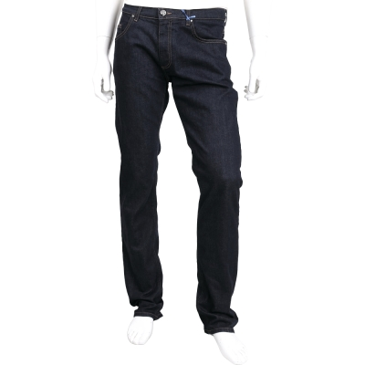 VERSACE 深藍色皮牌棉質牛仔長褲