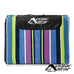 PolarStar 防潮加大絨面睡墊 (300x300cm)『彩色直條』P18703