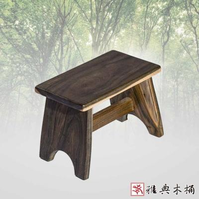雅典木桶  頂級綠檀木 21cm  綠檀板凳