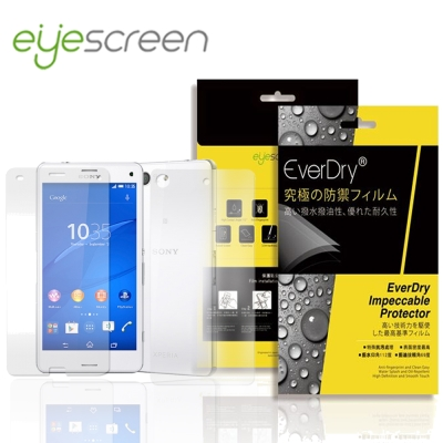 EyeScreen Sony Z3 Compact 保固半年 PET 正+反面保...