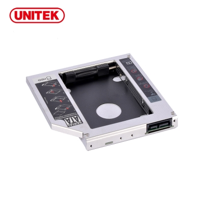 UNITEK 優越者2.5吋硬碟轉接架9.5mm