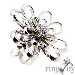 RingCity 雙層花型戒