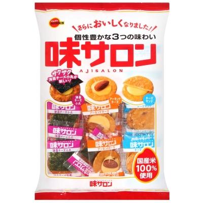 Bourbon北日本 味沙龍綜合米果(47.6g)