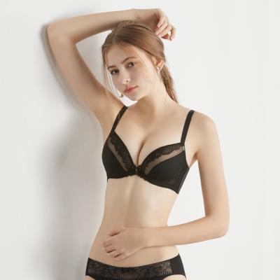 瑪登瑪朵-Soft Up內衣  B-E罩杯(黑)