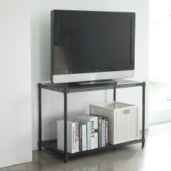 Home Feeling 平面沖孔二層架波浪架(2色)-90X45X60cm-DIY