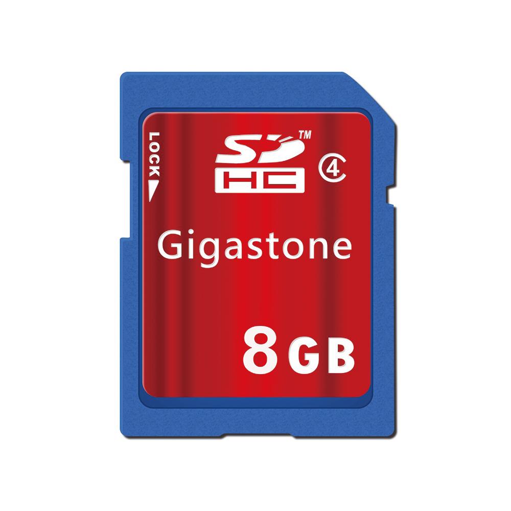 GigastoneSDHC Class4  8G記憶卡