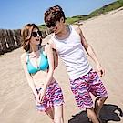 陽光男孩~男款印花海灘褲‧3色-OB大尺碼