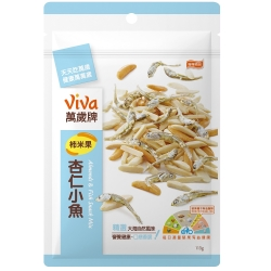 萬歲牌 柿米果杏仁小魚(113g)