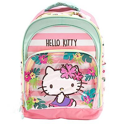 Sanrio HELLO KITTY兒童後背包L(熱帶風情)