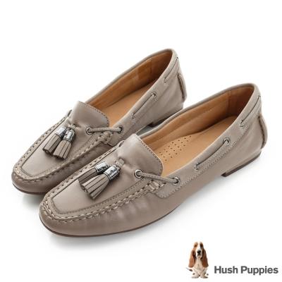 Hush Puppies PRISCILLA 流蘇樂福鞋-褐色