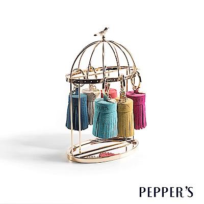 PEPPER`S Reese 真皮胖流蘇吊飾 - 6色