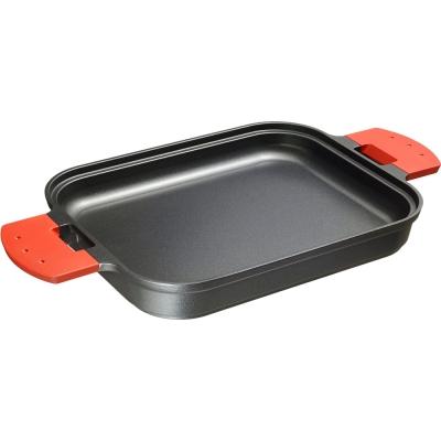 UCHICOOK 多用途平底烤盤(紅色)