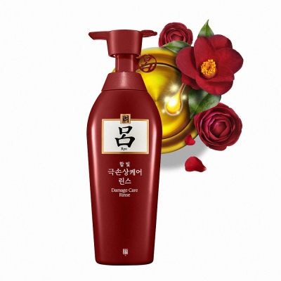 Ryo呂-韓方修護潤髮乳-受損髮質適用-新升級-4