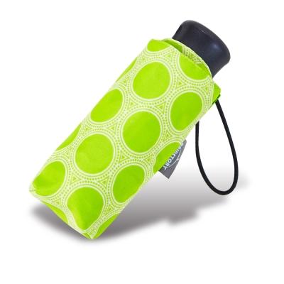 RAINSTORY綠漾圈圈抗UV迷你口袋傘