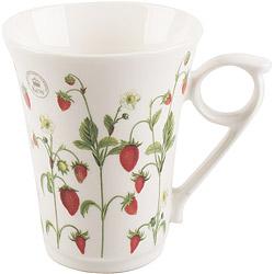 《CreativeTops》Kew寬口馬克杯(草莓莊園300ml)