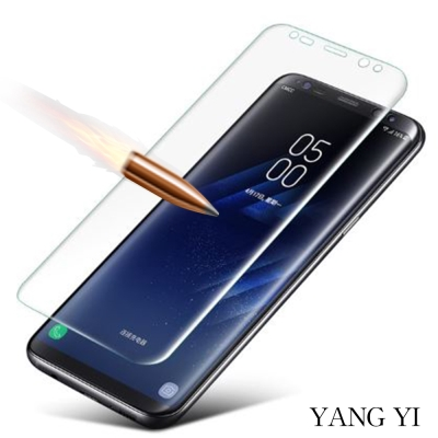 揚邑 Samsung Galaxy S8 5.8吋 全屏滿版3D曲面防爆破螢幕保...