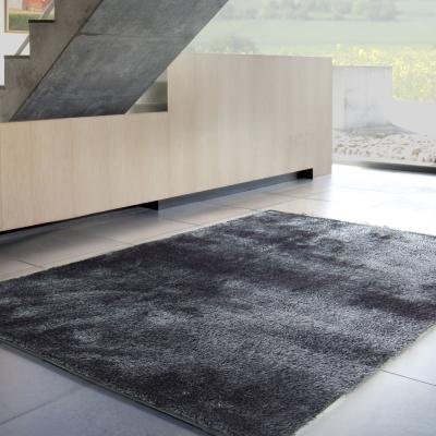 范登伯格 - 凱特 混織長毛地毯 (黑灰色 - 140x200cm)