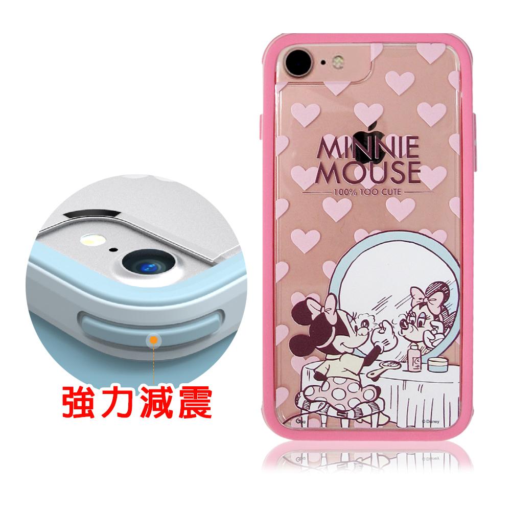 迪士尼&SOLiDE iPhone 7 4.7吋軍規防摔手機殼(經典米妮)