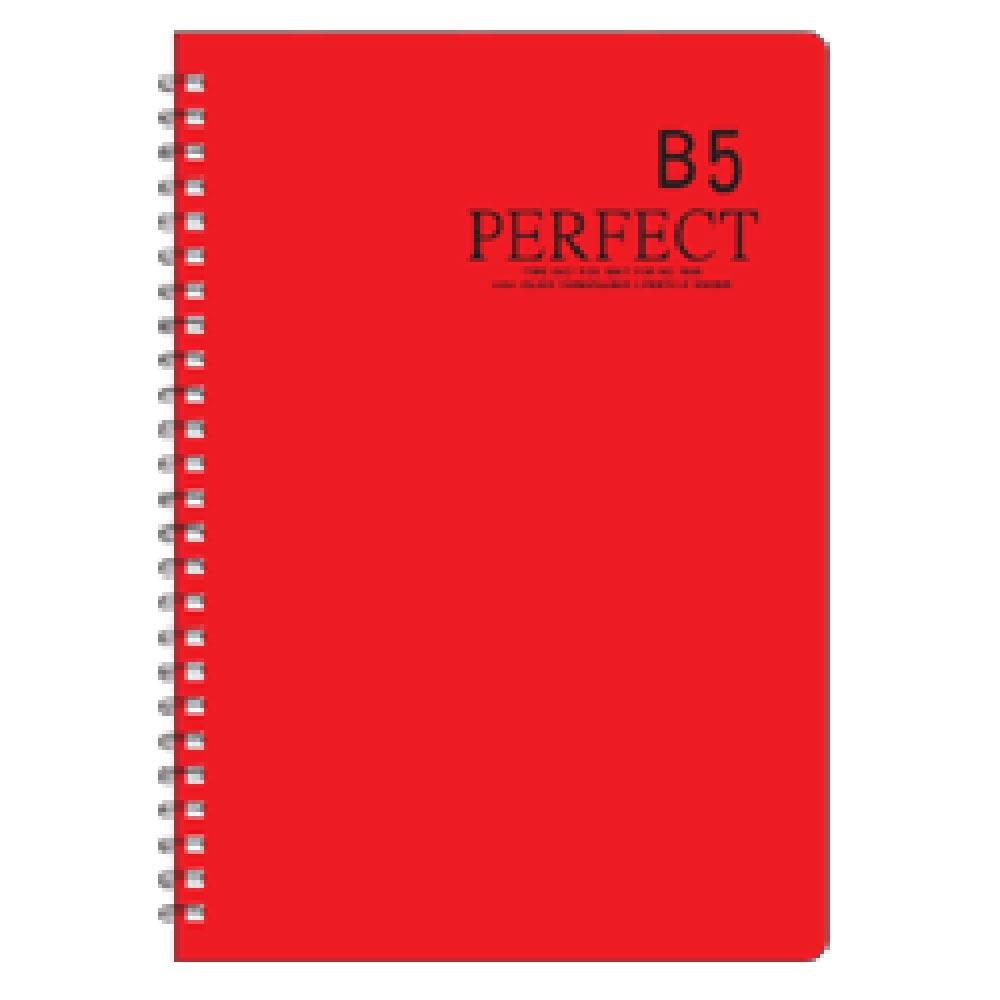 【加新】801YS18R 18K 紅色 原色活頁筆記(1包12本)