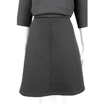 MARELLA 灰色極簡太空棉裙