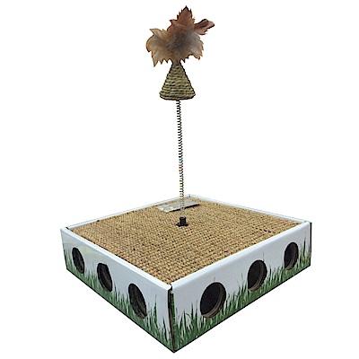 MDOBI摩多比-貓丸家 耐抓貓咪玩具盒-逗貓三角錐