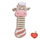 美國 Apple Park 農場好朋友系列 有機棉安撫啾啾棒 - 廚師小牛