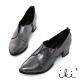 iki2英倫魅力-質感時尚蛇紋舒適低跟牛津鞋