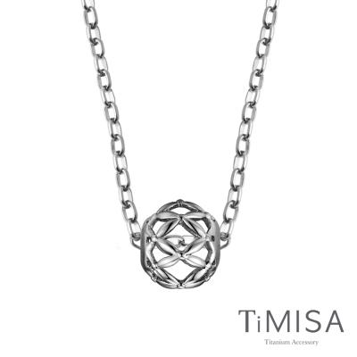 TiMISA 編織夢想 純鈦串飾項鍊(OSS)