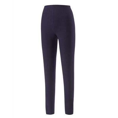 歐都納 女款熱流感保暖長褲 發熱/抑菌/吸濕 A-U1610W 深紫藍